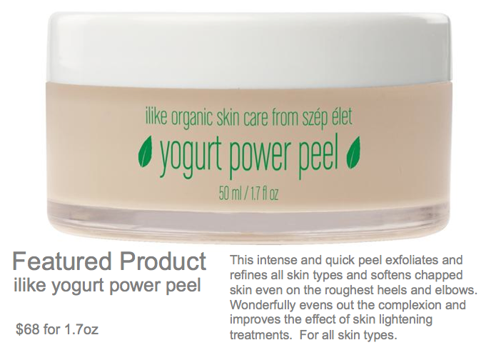 Featured Product - ilike Yogurt Power Peel